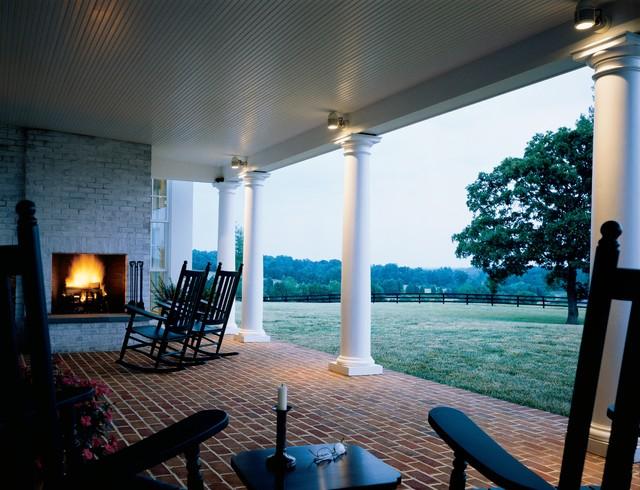 Green Springs Farm farmhouse-patio