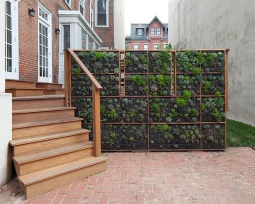 10 reasons to love vertical gardens for Vertical garden privacy screen