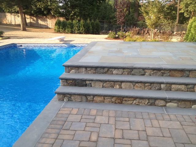 Greenlawn Pool traditional-patio