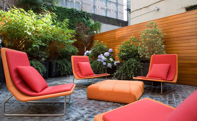 Greenwich Village Townhouse contemporary-patio