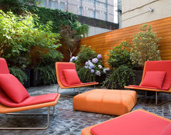 Greenwich Village Townhouse modern patio