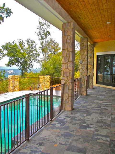 Greystone Crest - Private Residence - Lot 1 traditional-patio