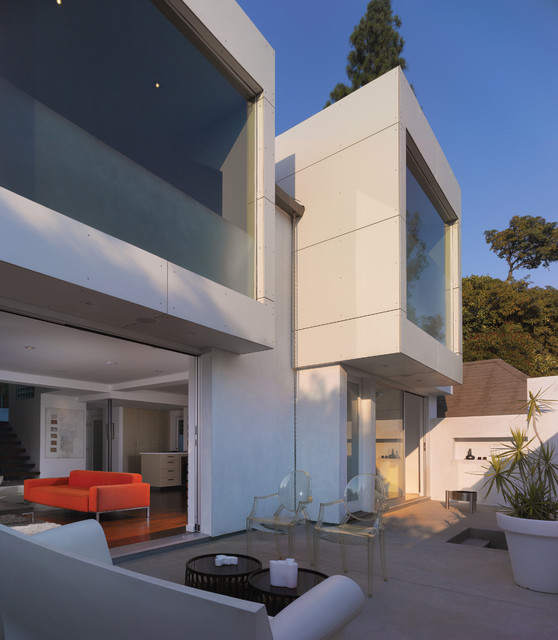 GRIFFIN ENRIGHT ARCHITECTS: Hollywood Hills Residence modern patio
