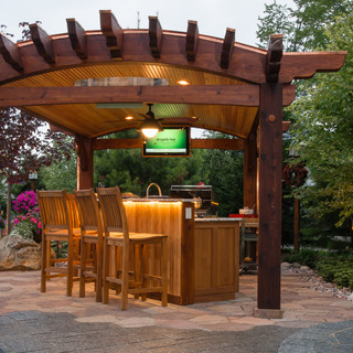 Grillin' and Chillin' - Traditional - Patio - other metro - by Designs ...