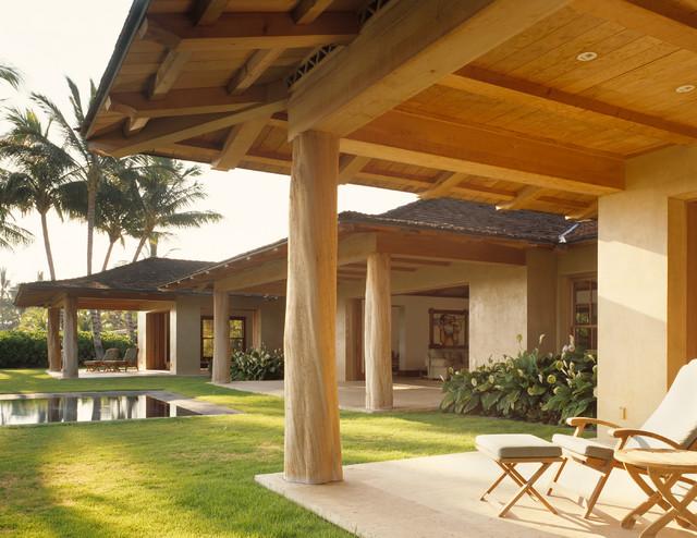 Guest lanai for Decoration maison tropicale