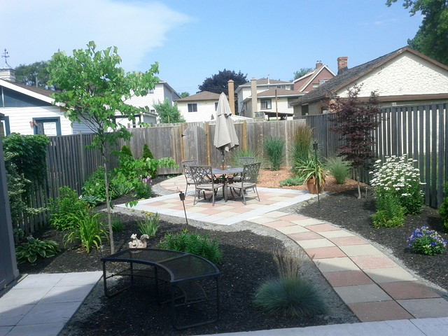 Hamilton Backyard Makeover Before And After