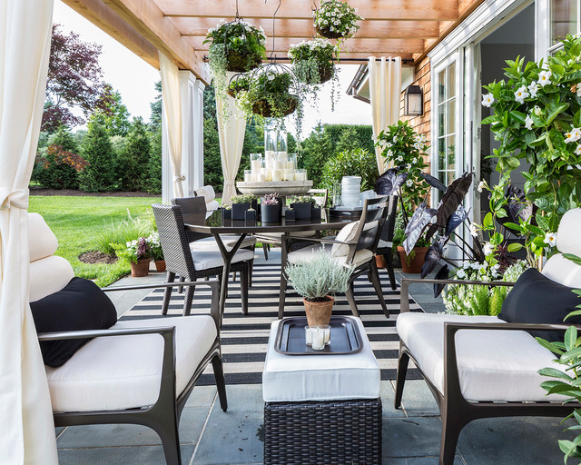 Hamptons Designer Showhouse 2014 - Eclectic - Patio - New York - by FRONTGATE