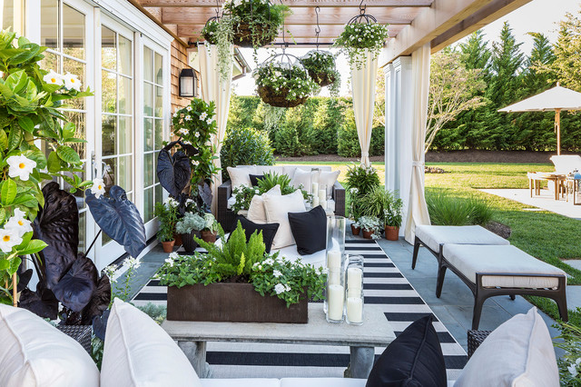 htons designer showhouse 2014 eclectic patio new