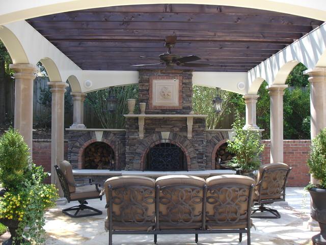 Hanging Lanterns #568614 & Fan #092102 mediterranean-patio