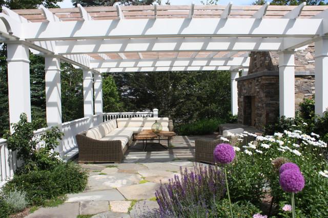 Harbor Springs Residence Patio traditional-patio