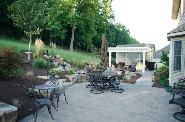 Hardscape contemporary-patio