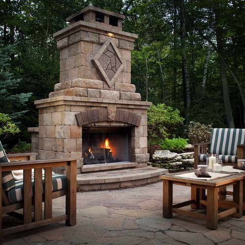 cost of stone fireplace