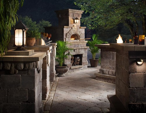 Harmony Outdoor Elements traditional patio