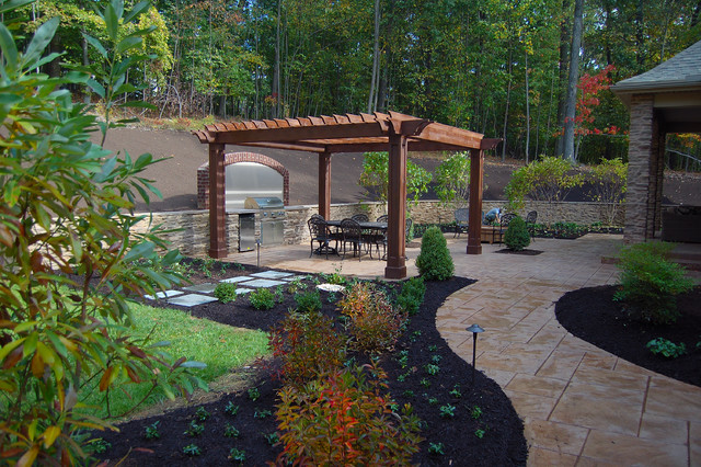 Landscaping Stone Harrisburg : Harrisburg residence patio other by fernhill landscapes