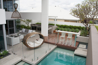 Harrisdale contemporary-patio