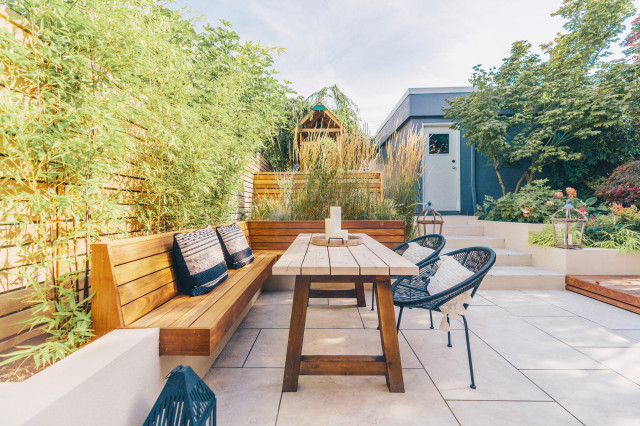 Create Privacy In Your Yard With Plants, Tall Potted Plants Patio Privacy Australia