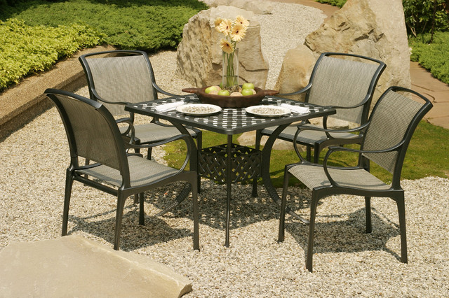 Hauser Biltmore Outdoor Dining Collection Traditional Patio