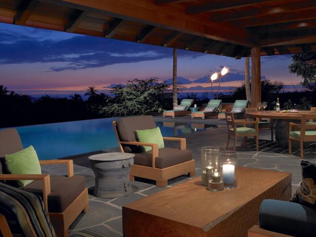 Hawaii tropical-patio