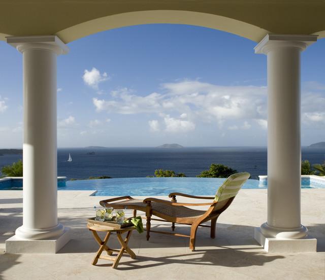 Hawksview, St. John, USVI tropical-patio