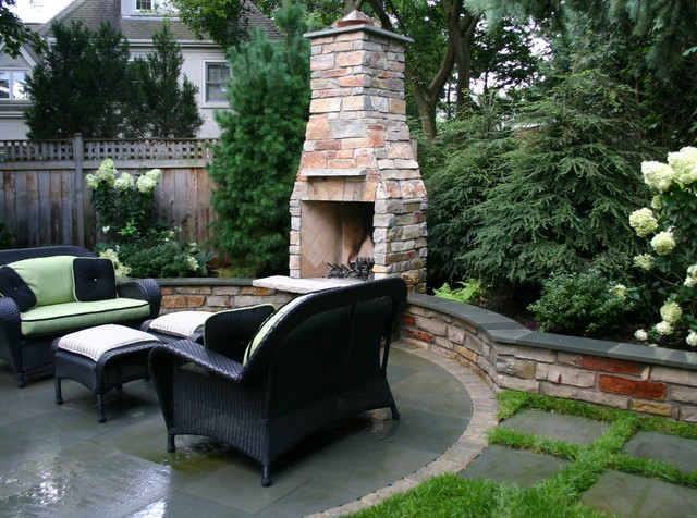 Heffernan Landscape Design contemporary patio