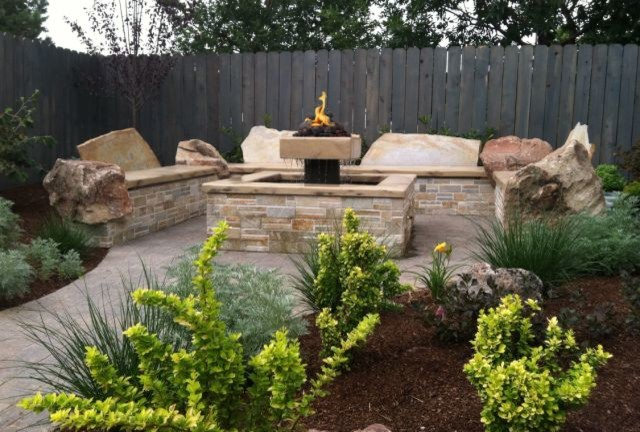 Small Yard Transformation After Contemporary Patio