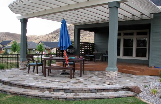 Hidden Springs Residence 2 contemporary-patio