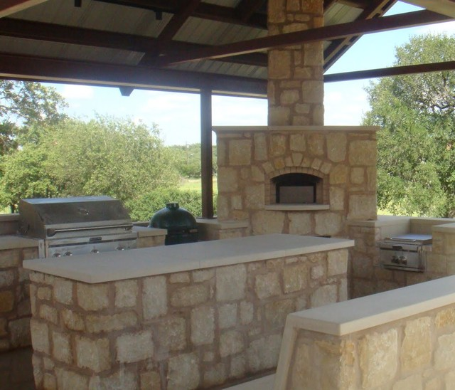 Hill Country Outdoor Kitchen - Patio - Austin - by Texas ...