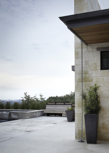Hill country residence contemporary patio austin for Hill country contemporary architecture