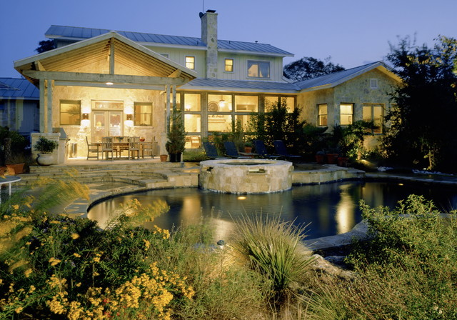 Hill Country Residence craftsman-patio