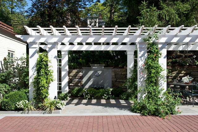 Hillside Residence contemporary-patio