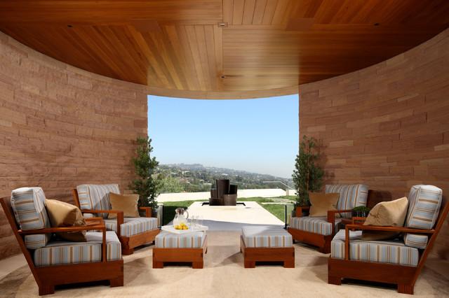 Interior Designers. Hilltop Estate Contemporary Patio