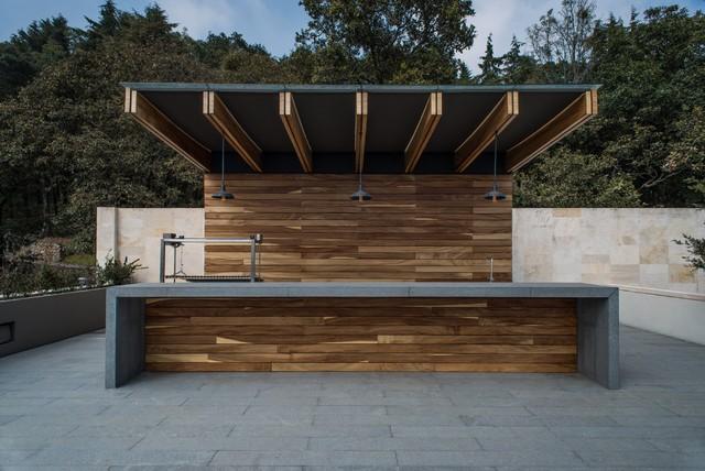Hipico contemporary patio mexico city by rhyzoma for Sofa exterior diseno