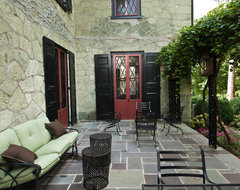 Historic Renovation in West Chester, PA traditional patio