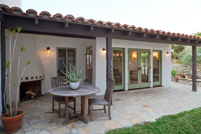 Delightful Historic Spanish Renovation Mediterranean Patio