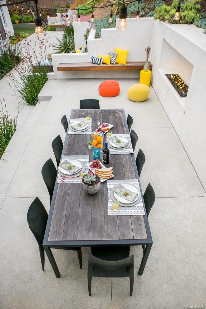 Minimalist patio photo in San Diego