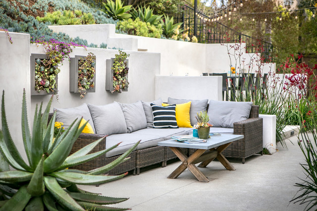 Hoeck Residence contemporary-patio