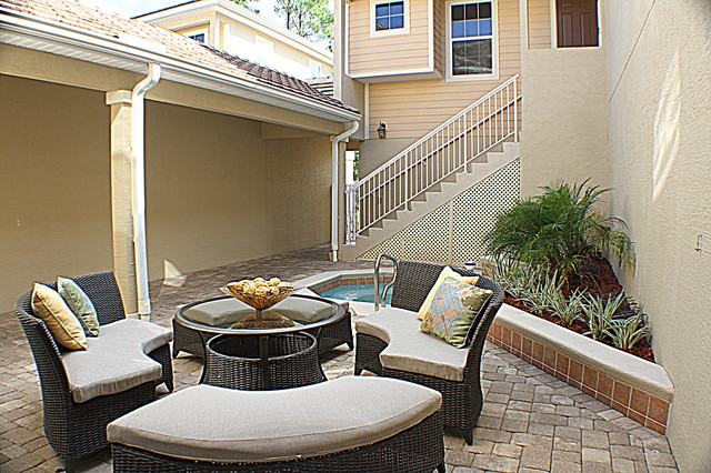 Homes by Deltona, Isles of the World, World Golf Village traditional-patio