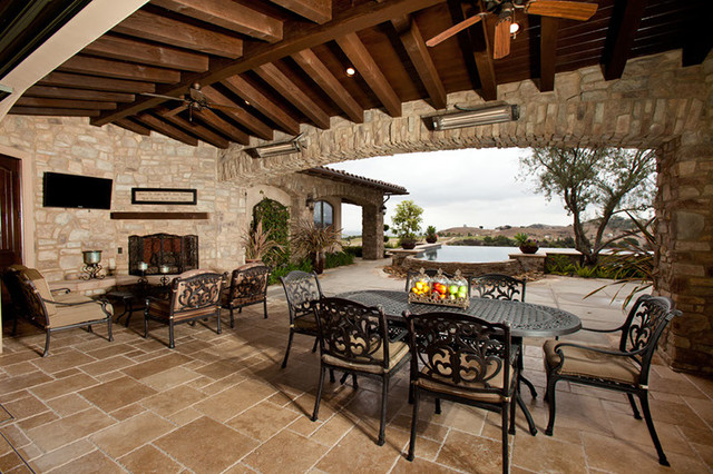 traditional patio orange county by cornell custom homes inc