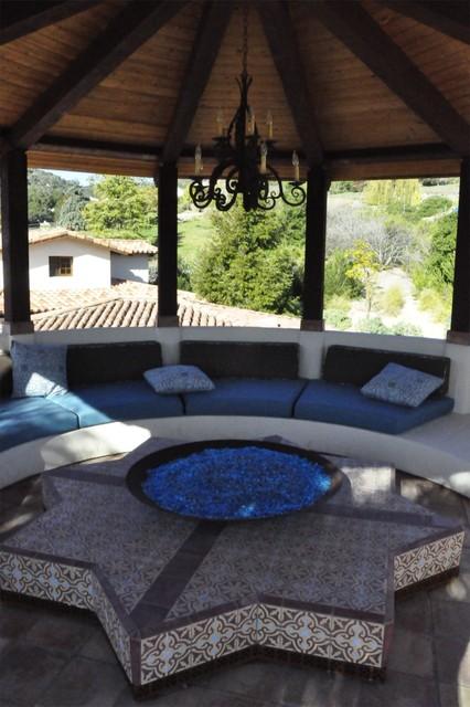 Hookah Room mediterranean-patio
