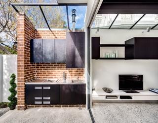 Hopetoun street Paddington - Contemporary - Patio - Sydney ...