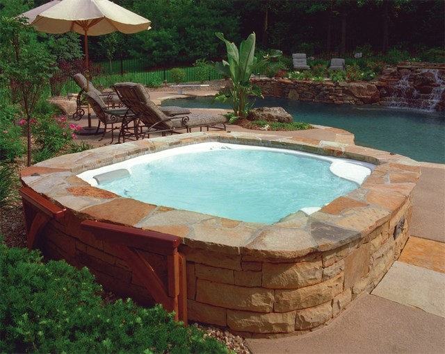 Backyard Hot Tub Ideas : Back Yard Patio Ideas With Hot Tub Hot spring backyard ideas