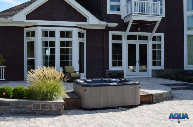 Hot Tubs traditional-patio