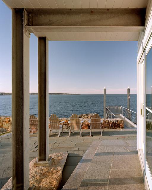 House at Gap Head beach-style-patio