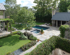houston, tx Pool House and Residence contemporary-landscape