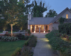 Houston Residence and Poolhouse traditional-patio