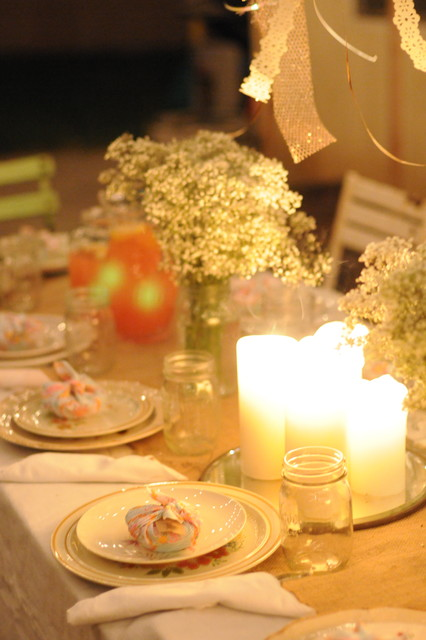 HOUZZ Holiday Contest: A Pretty Backyard DInner Party eclectic patio