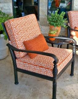 office custom outdoor seating cushions modern patio dallas