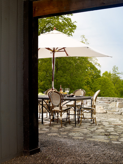 Hudson river valley residence traditional patio new for Hudson valley interior design