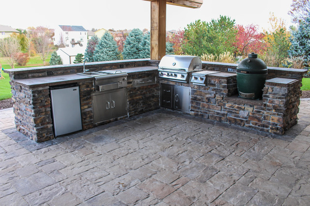 Gretna outdoor kitchen patio patio omaha di for Outdoor kitchen omaha