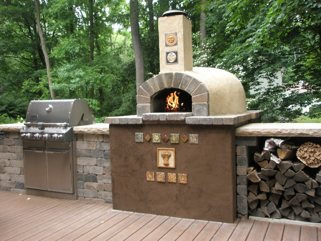 Hughes\' Outdoor Kitchen - Southwestern - Patio - Grand Rapids - by ...